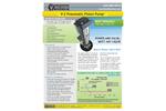 Blackhawk - Model V-2 -101 - Versatile Pneumatic Reciprocating Piston Pump Brochure