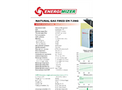 EnergiMizer - Model CHP EM 7.5NG - Energimizer Natural Gas Fired- Brochure