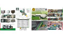 MAC112-Baler for Recycling-Huge Capacity