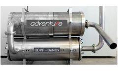 Model CDPF  - Active Regenerats DeNOx system