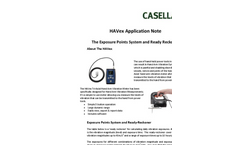 The Exposure Points System and Ready Reckoner - HAVex Application Note