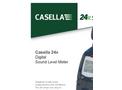 Casella - 24x Series - Digital Sound Level Meter - Datasheet