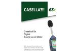 Casella - Model 63x Series - Digital Sound Level Meter - Datasheet