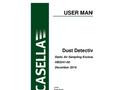 Dust Detective - Static Air Sampling Enclosure - User Manual