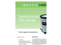 Casella - Tipping Bucket  Rain Gauge - Datasheet