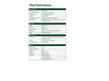 Apex2 FlowPerformance - Technical Specifications