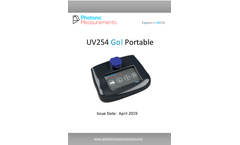 UV254 Go! Manual