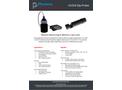 UV254 Dip Probe - Portable and Field Instrument - Datasheet