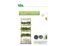 M&F - Model DHL-H3S - LED Hydroponic systems
