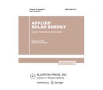 Applied Solar Energy Journal