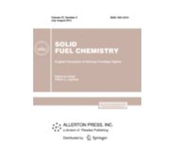 Solid Fuel Chemistry Journal