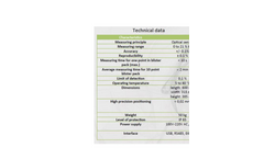 ECHO - Model BlistO2 - Automatic System for Oxygen Analysis Brochure