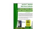 AerPro - Model WetAer Series - Wet Dust Collector - Brochure