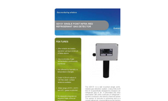 Model GD 131 - Wall Mounted Single Point Infra-Red Freon Detector Brochure