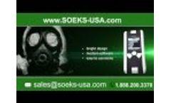 NEW Radiation Detector SOEKS Quantum Dosimeter Geiger Counter by SOEKS USA Video
