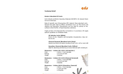 Absorption Sock Technical Brief