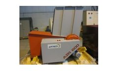 ARTECH - Model AZR 600-600S - Single Shaft Shredders