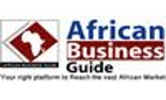 ADVERTISE IN THE AFRICAN BUSINESS GUIDE ( ABG )