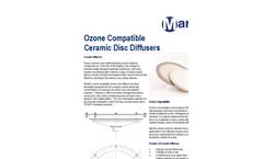 Mantec Ozone Compatible Ceramic Disc Diffusers - Brochure