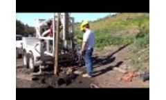 Using a Sand Pump When Drilling for Water Video