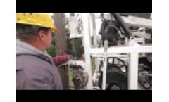 Water Well Drilling With a LDT 360 Cable Tool Rig Video