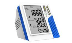 Cumulate - Model FB201 - Carbon Dioxide (CO2) Indoor Air Quality Monitor with Data Logger