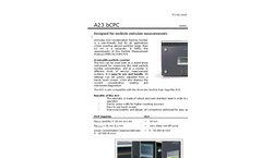 Airmodus - Model A23 - Condensation Particle Counter for Vehicle Emissions Datasheet