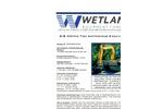 Wetland - Model 258-48-52-2B - 6-8 Metric Ton Excavator - Brochure