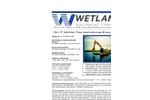 Wetland - Model 333-52-60-3B - 15-17 Metric Ton Excavator - Brochure