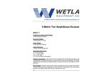 Model 5 Metric Ton - Amphibious Excavators - Specification