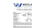 Model 15-17 Metric Ton - Amphibious Excavator Specification