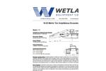 Model 18-22 Metric Ton - Amphibious Excavator - Specification
