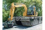 Wetland - Model 6-8 Metric Ton - Amphibious Excavators