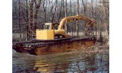 Wetland - Model 10-12 Metric Ton - Amphibious Excavator