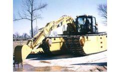 Wetland - Model 15-17 Metric Ton - Amphibious Excavator