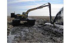 Wetland - Model 18-22 Metric Ton - Amphibious Excavator