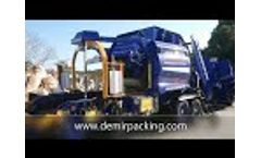 Round Baler and Wrapper