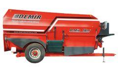 DEMIR - Horizontal Feed Mixer Wagon