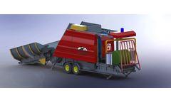 Demir - Model DMR - Round Baler & Wrapper Machines