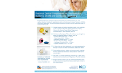 Knight Optical - Gas Detection Filters Brochure