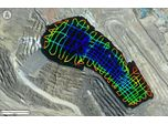 CEE-USV with 33kHz CEESCOPE LITE Tackles Deep Acid Pit Lake Survey