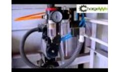 Interal Structure Of The Gas-Marking Equipment Video