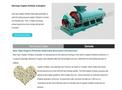 New Type Organic Fertilizer Granulator Brochure