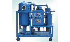 Chongqing-HLA - Model LVP10 - Multistage Energy Savings Lubricant Oil Hydraulic Oil Purifier Machine