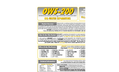 EnviroLogic - Model OWS-200 - Concentrated Microbial-Enzymatic Hydrocarbon Remedi Ation Agent Brochure