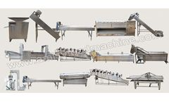 Amisy - Automatic Potato Chips Production Line for Sale