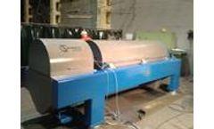 Model W1D601 - Decanter centrifuge