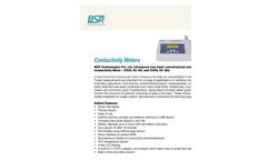 BSR - Model COOL EC 301 and COOL EC 302 - Liquid Electrical Conductivity Meter Datasheet