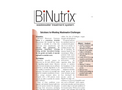 BiNutrix - Bioinutrients for Wastewater Treatment Brochure