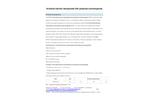 Xiangrun - Model XR2006 - M - Activated Alumina Potassium Permanganate Media Brochure